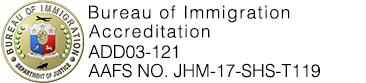 Bureau of Immigration Accreditation